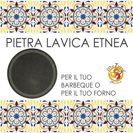 PIETRA LAVICA ETNEA TONDA BARBECUE